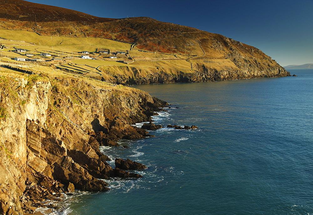 Coumeenole Beach On The Slea Head Drive On The Dingle Peninsula, Wild Atlantic Way, County Kerry, Ireland