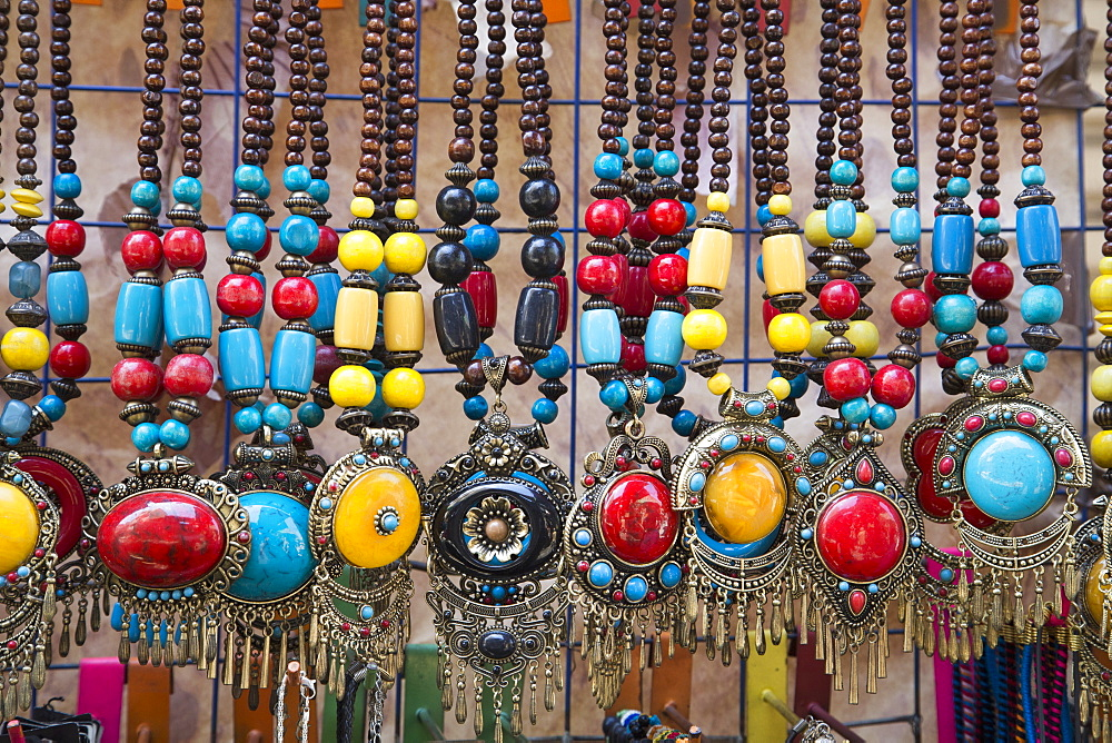 Jewelry For Sale, Khan Al-Khali Bazaar, Cairo, Egypt