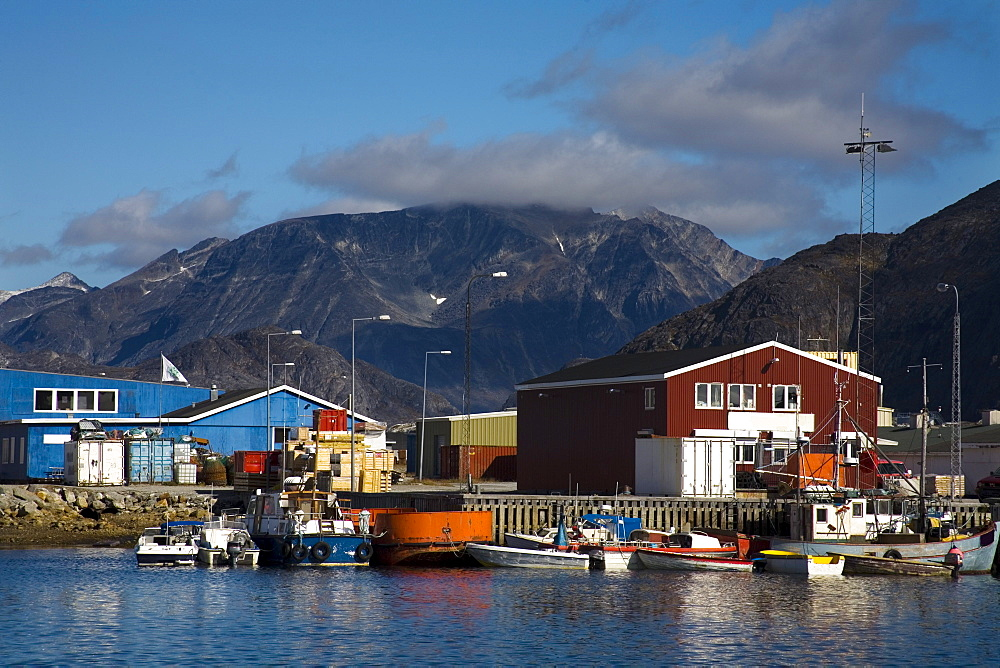 Port Of Nanortalik, Island Of Qoornoq, Province Of Kitaa, Greenland, Kingdom Of Denmark