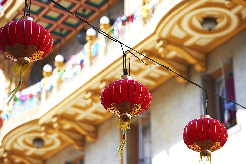 Lanterns, China Town, San Francisco, California, United States Of America