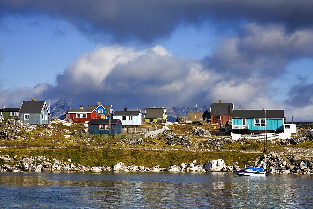 Port Of Nanortalik, Island Of Qoornoq, Province Of Kitaa, Southern Greenland, Greenland, Kingdom Of Denmark