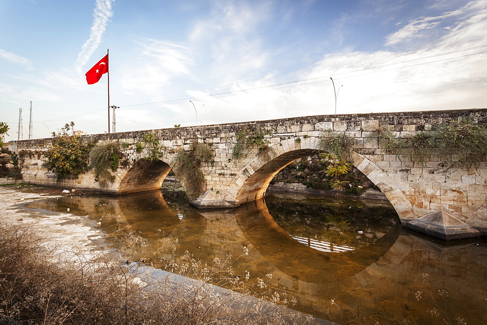 Stone Bridge At The Entrance To Tarsus On The Ankara-Adana Road, Tarsus, Turkey
