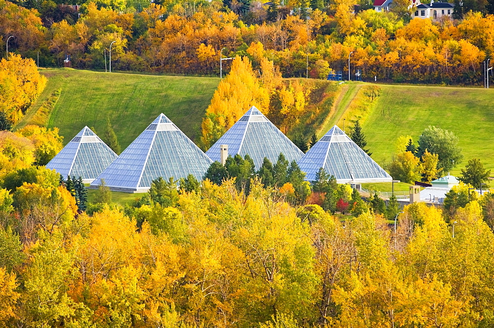 Edmonton, Alberta, Canada; Autumn City Skyline