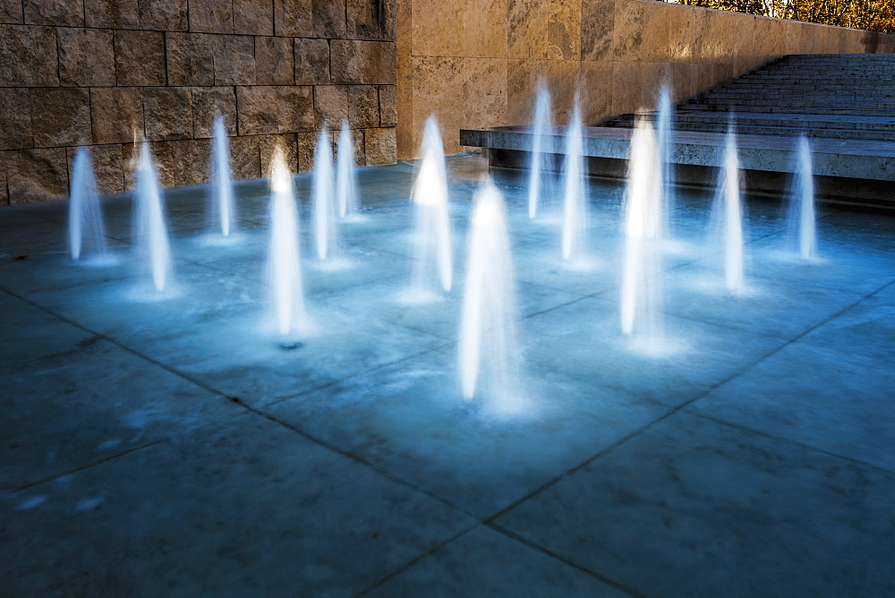 Fountain Illuminated, Rome, Italy