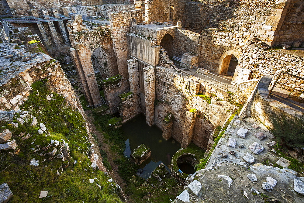 Pools Of Bethesda, Jerusalem, Israel