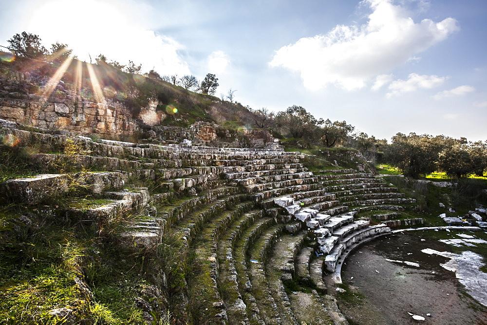 Amphitheatre, Sebastia, Samaria, Israel