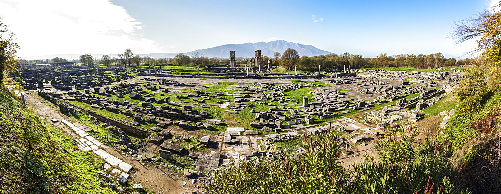 Ruins, Philippi, Greece