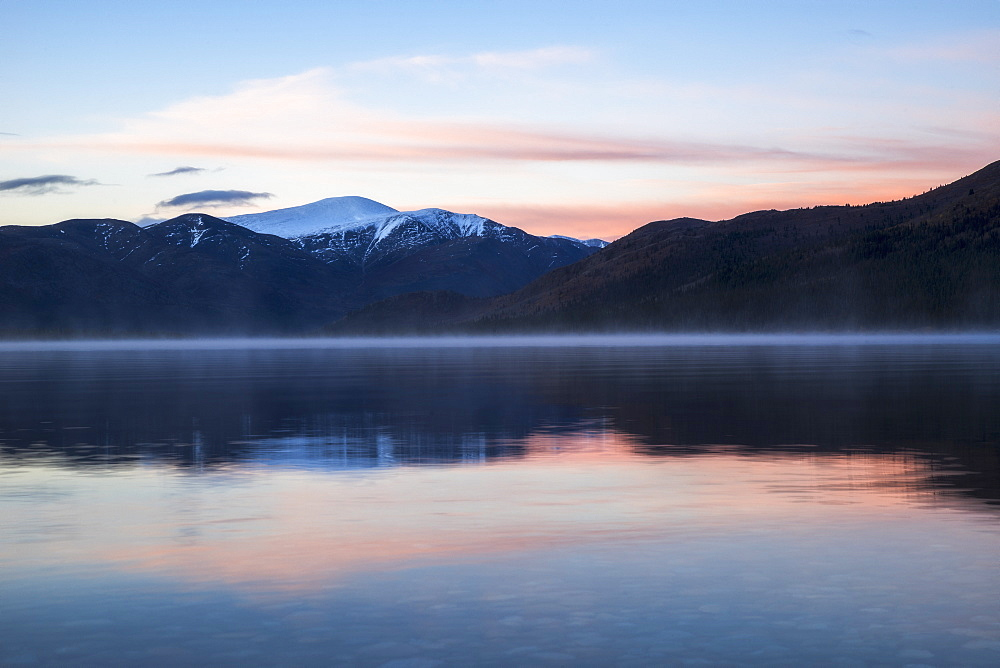 Dawn Over Fish Lake, Yukon, Canada