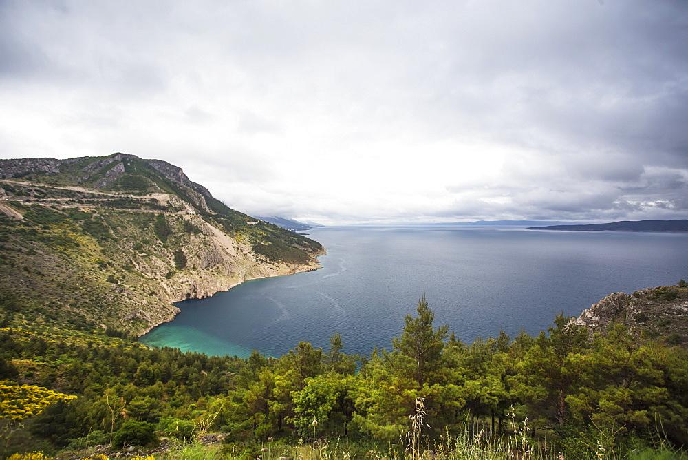 The Croatian Coastline, Pisak, Splitsko-Dalmatinska Zupanija, Croatia