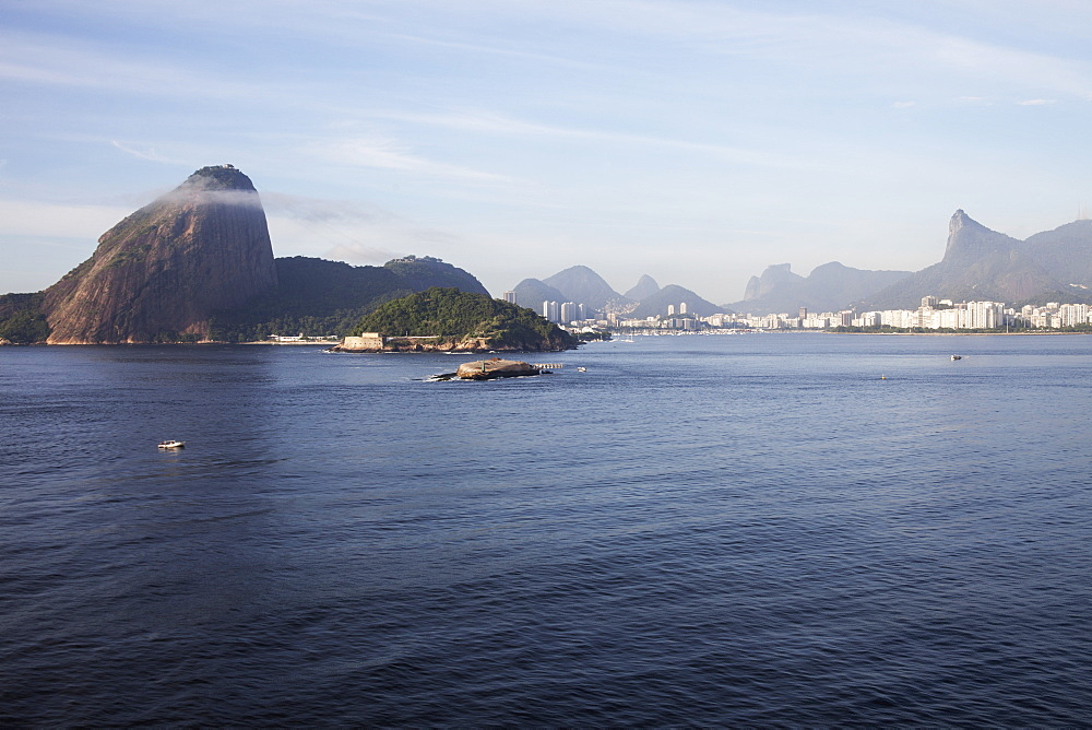 Sugarloaf Mountain, Botafogo, Christ The Redeemer Statue, Rio De Janeiro, Brazil