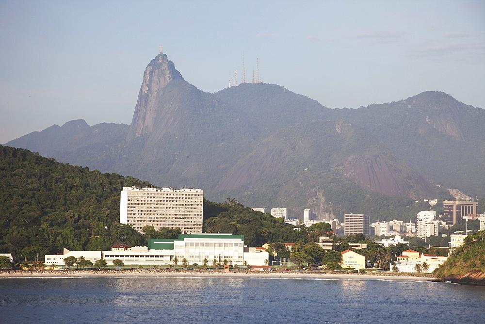 Fora Beach, Christ The Redeemer Statue, Rio De Janeiro, Brazil