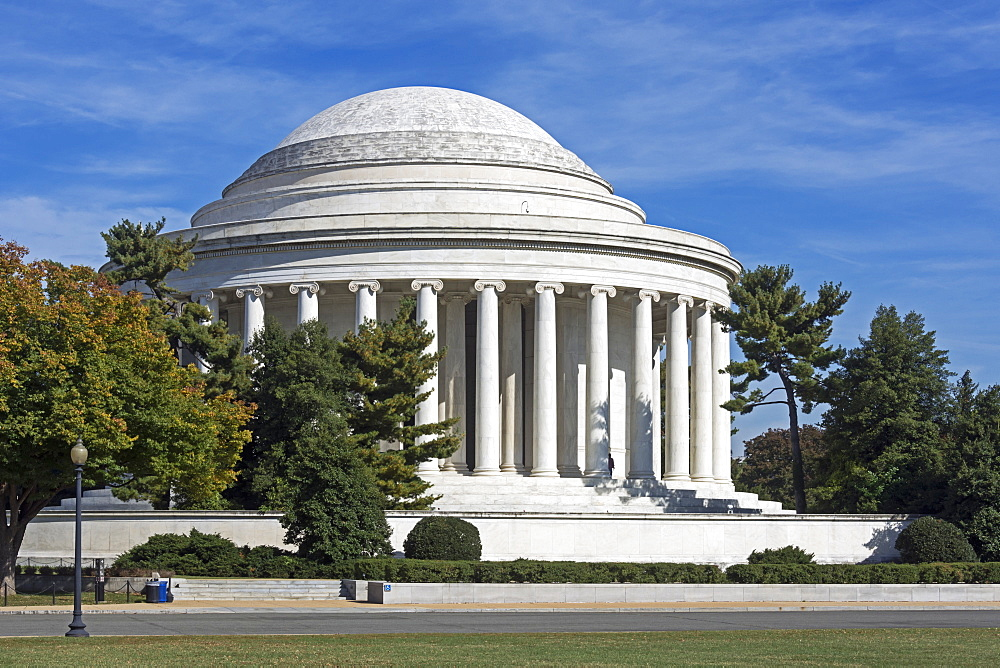 Thomas Jefferson Memorial, Washington, District Of Columbia, United States Of America
