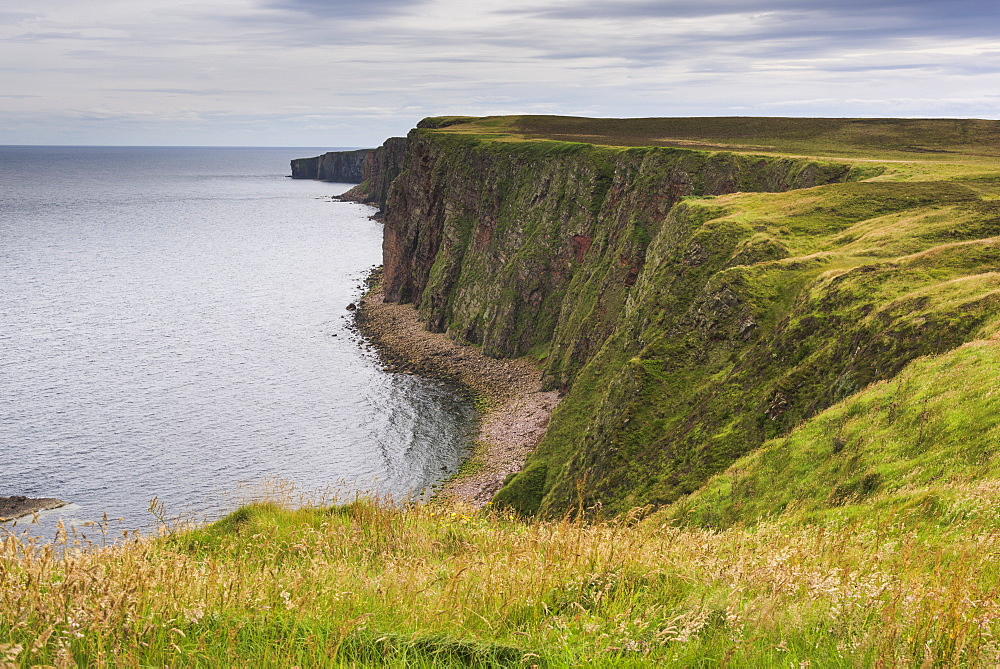Cliffs Along The Coastline Of Duncansby Head, John O'groats, Scotland
