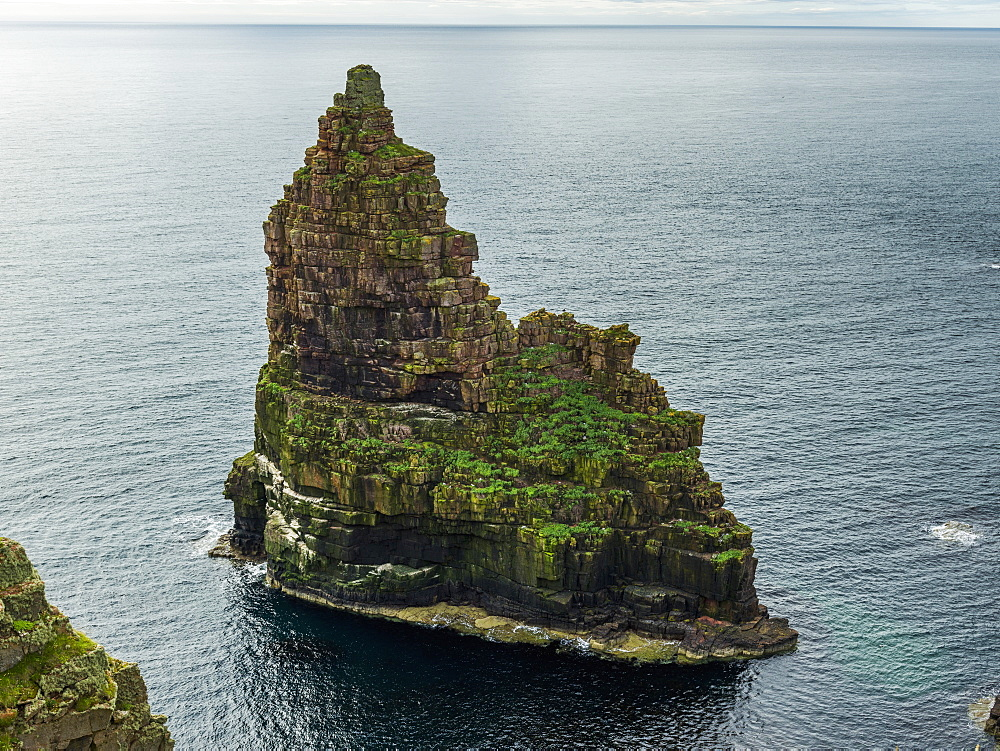 Sea Stack At Duncansby Head, Scotland
