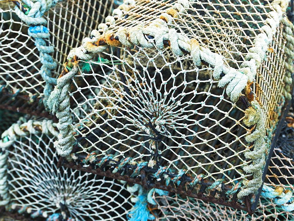 Lobster Traps, John O'groats, Scotland