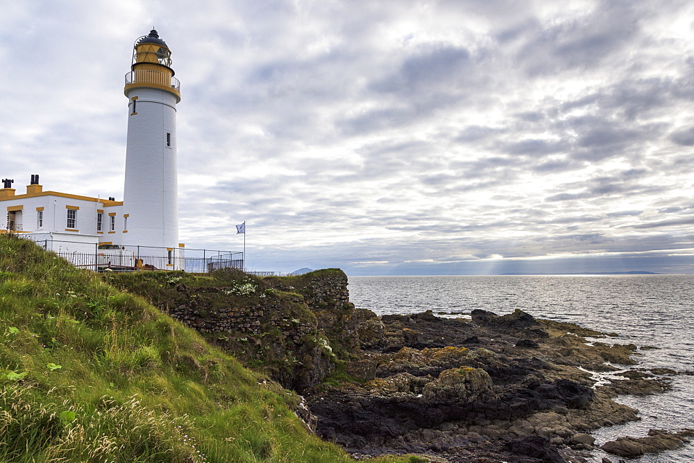 A Lighthouse Along The Coast, Scotland