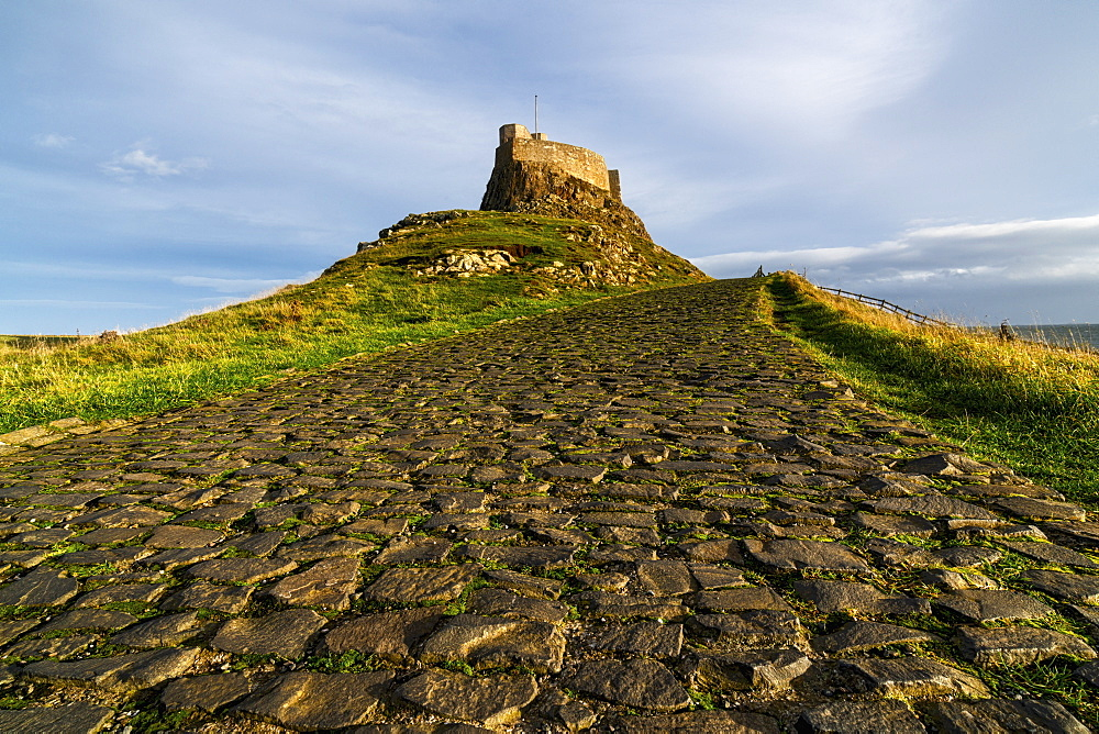 A Civil Parish On Holy Island, Lindisfarne, Northumberland, England
