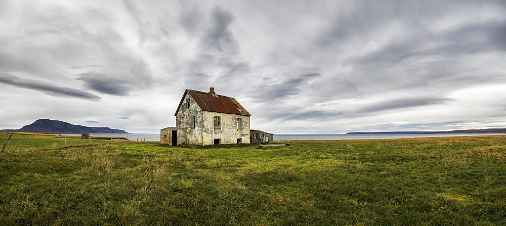 Abandoned House In Rural Iceland, Iceland