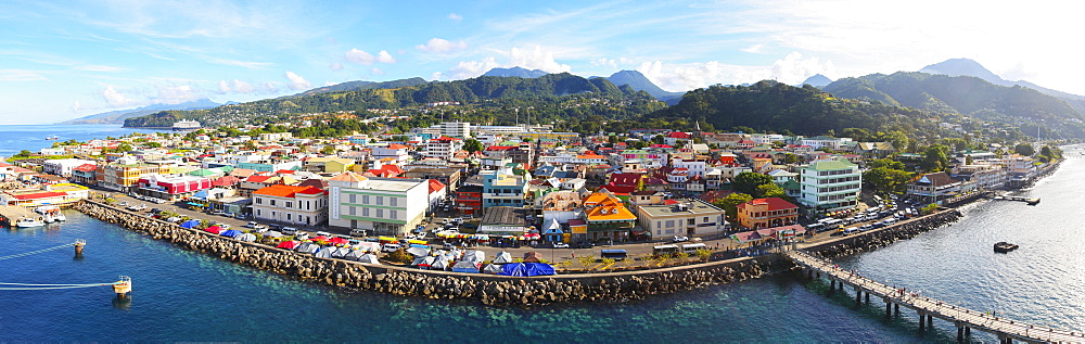 Downtown Roseau On The Caribbean, Roseau, Dominica
