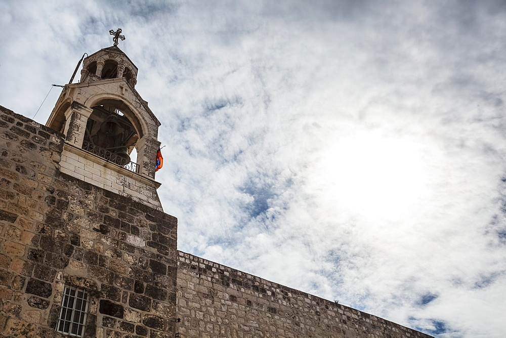 Bell Tower Of The Armenian Monastery, Bethlehem, Israel