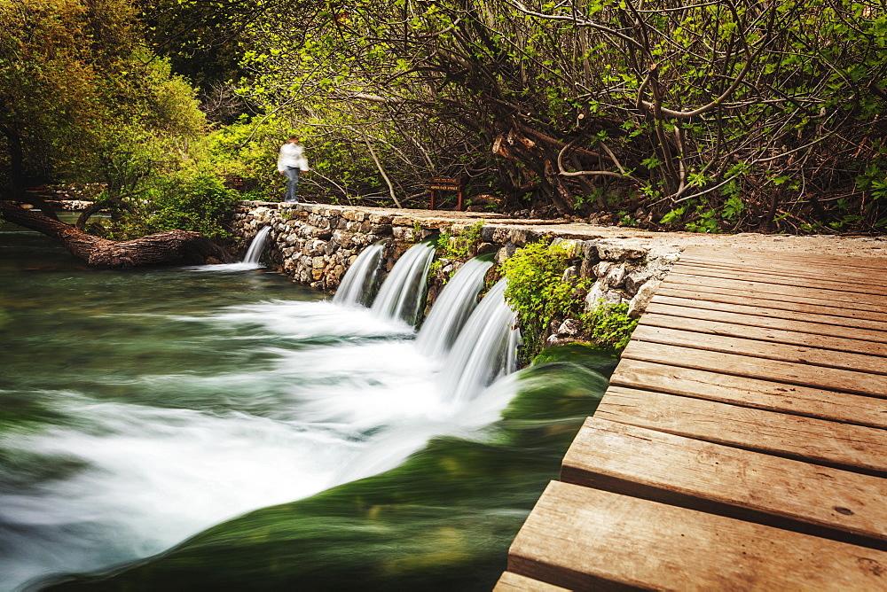 Herman River Springs, Caesarea, Israel