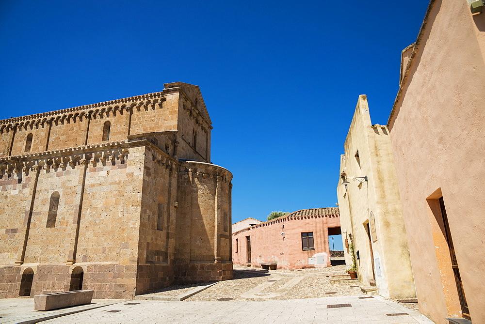 Cathedral Of Santa Maria Di Monserrato, Tratalias, Carbonia Iglesias, Sardinia, Italy