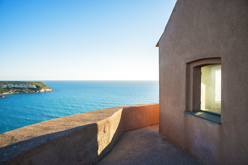 View Of The Mediterranean Sea From San Giovanni Tower, Tharros, Sardinia, Italy