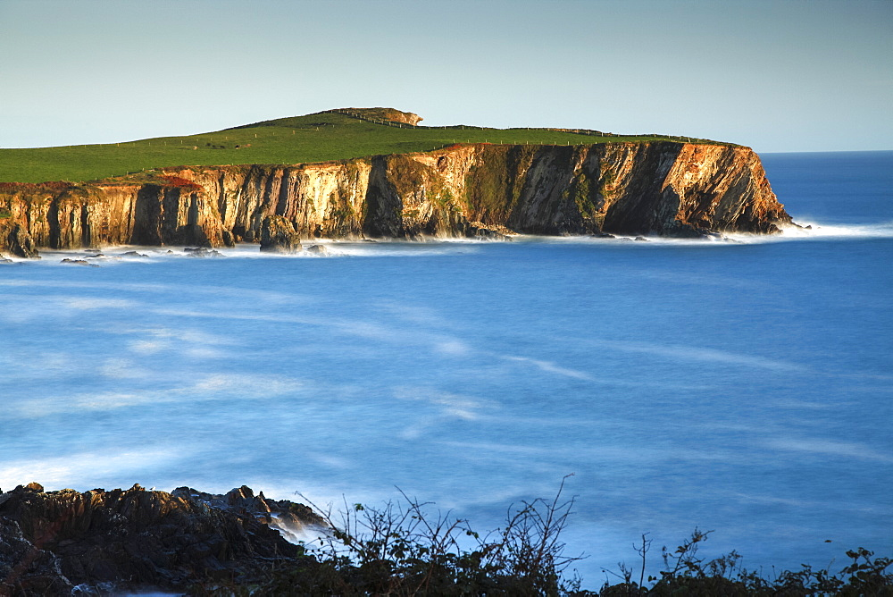 Coastal Cliffs Around Toe Head On The Wild Atlantic Way In West Cork, County Cork, Ireland
