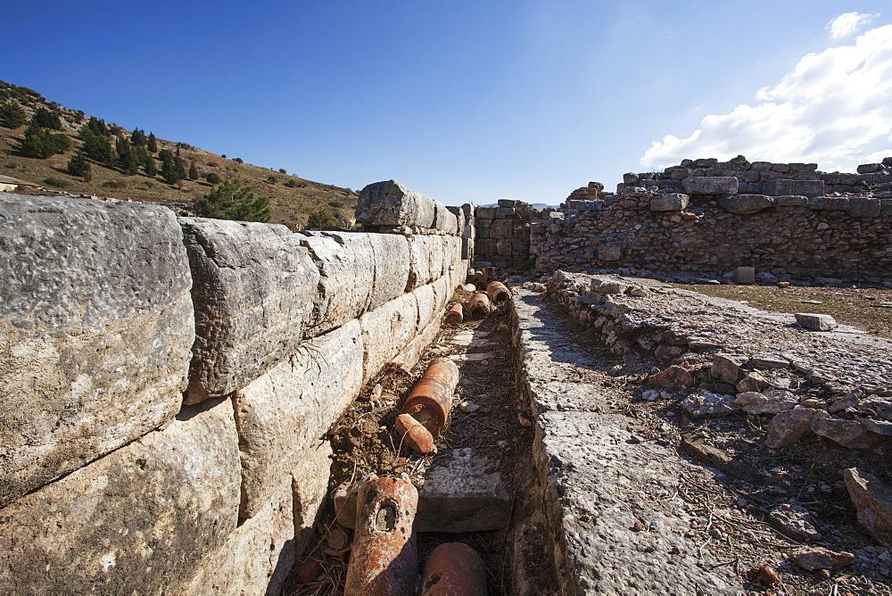 Baked Clay Pipes, Ephesus, Izmir Turkey