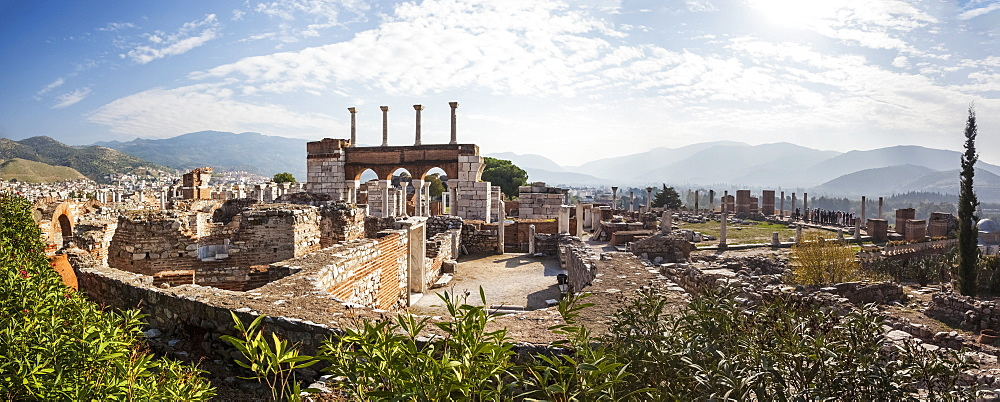 Ruins Of Saint John's Basilica And The Tomb Of Saint John, Ephesus, Izmir, Turkey