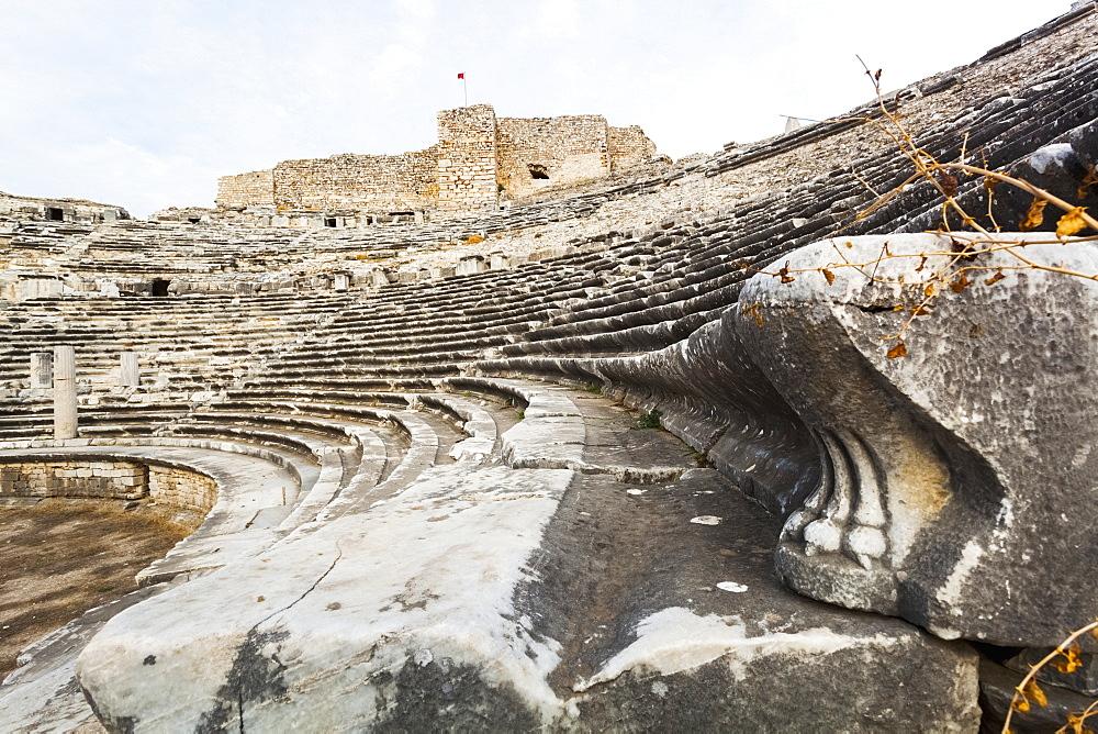Ruins Of An Amphitheatre, Miletus, Turkey