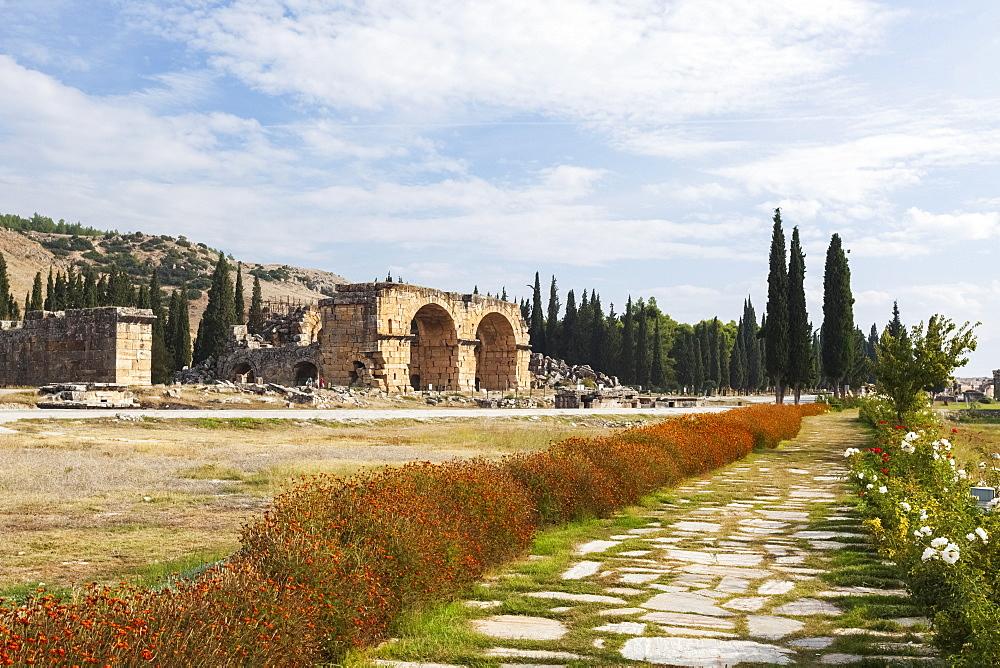 Grave Monuments, Necrolopis, Pamukkale, Turkey