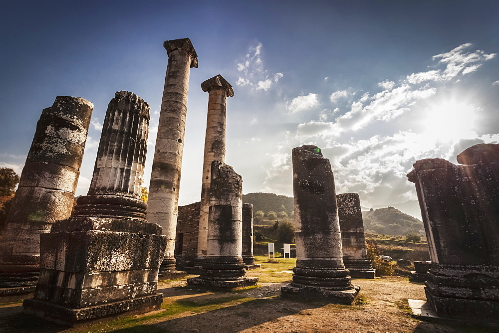 Ruins Of The Temple Of Artemis, Sardis, Turkey