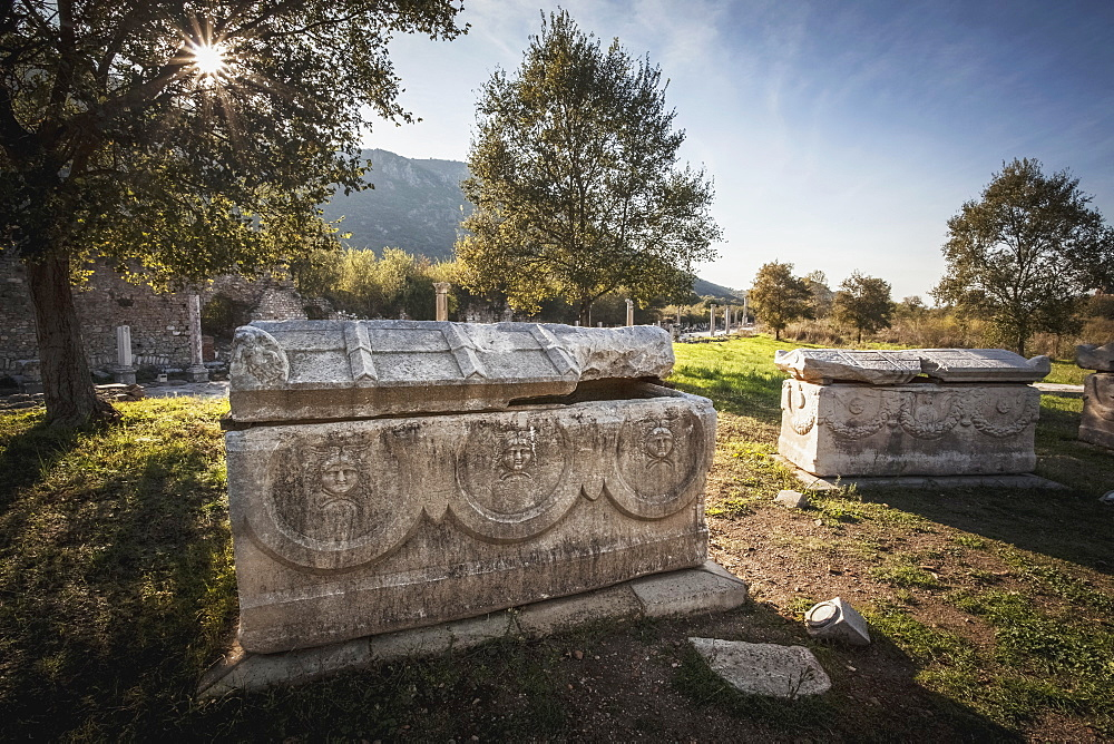 An Ancient Ossuary, Ephesus, Turkey