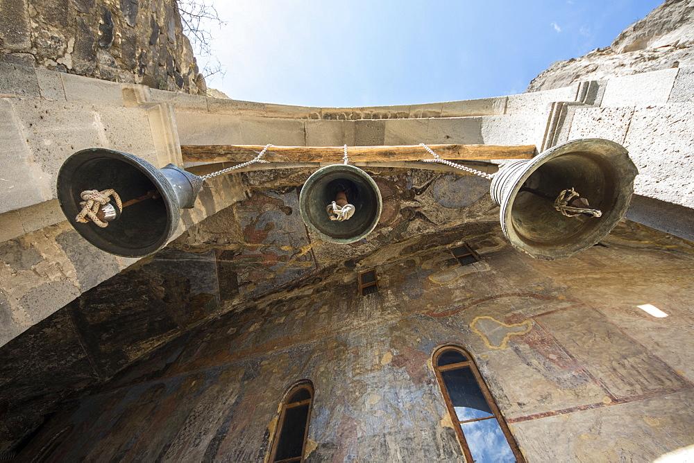 Bells Of The Church Of The Dormition In The Vardzia Cave Monastery, Meskhetii, Georgia