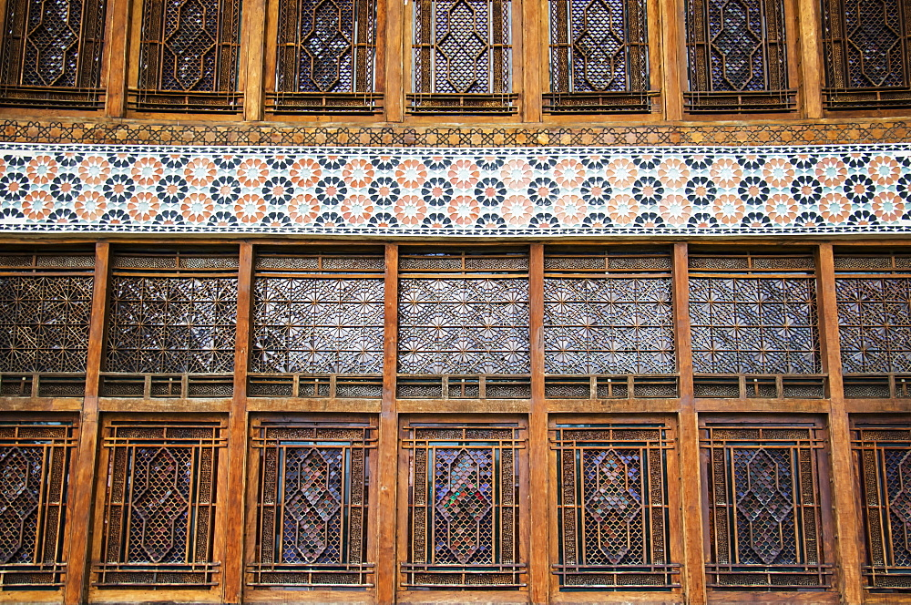 Windows Of The Palace Of Shaki Khans, Shaki, Azerbaijan