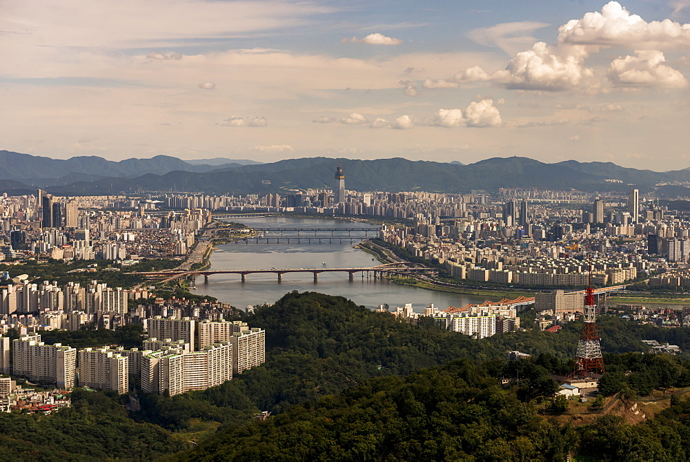 Cityscape Of Seoul, Seoul, South Korea