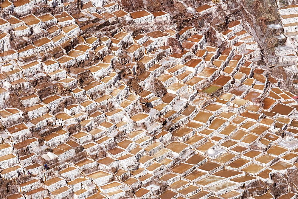 Family Owned Salt Ponds In Sacred Valley Near Urubama, Maras, Cusco, Peru - 1116-46395