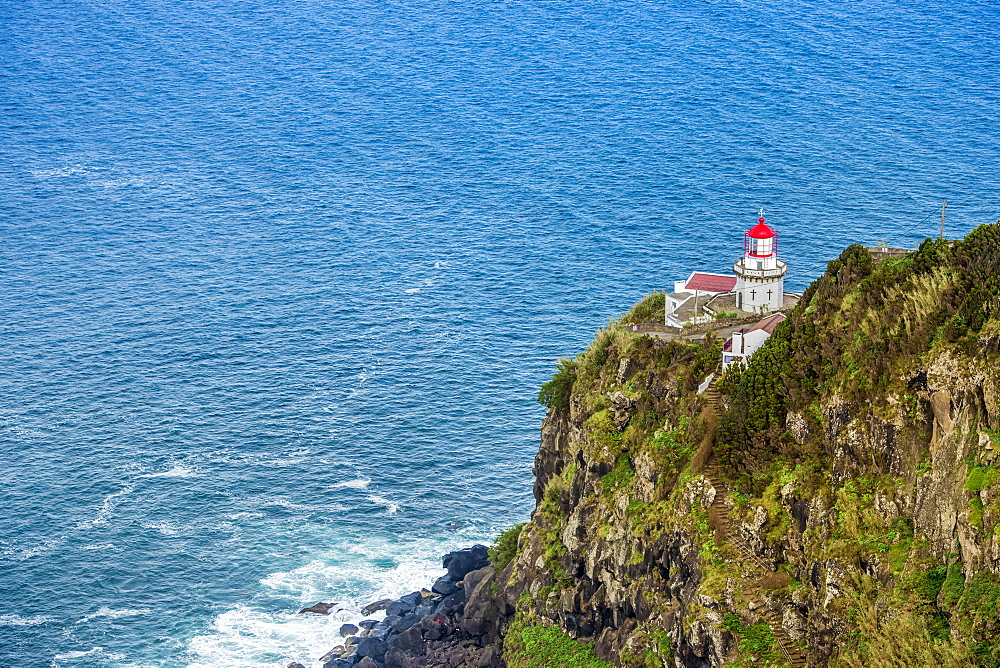 Ponta Do Arnel Lighthouse, Sao Miguel, Azores, Portugal