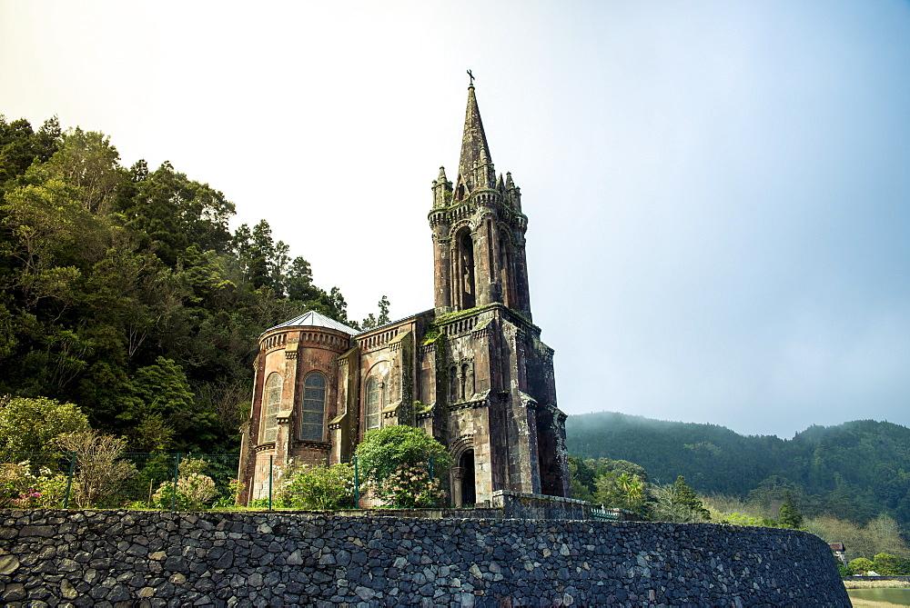Chapel Of Nossa Senhora Das Vitorias, Lagoa Das Furnas, Furnas, Sao Miguel, Azores, Portugal