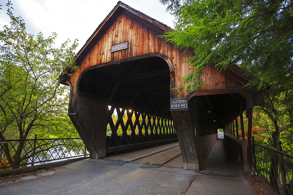 Middle Bridge, Woodstock, Vermont, United States Of America