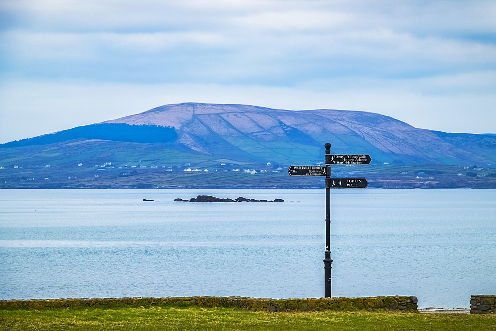 Signage Along The Coastline, Waterville, Count Kerry, Ireland