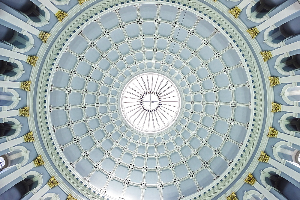 The Ceiling Of The Entrance Hall In The National Museum Of Ireland-Archaeology, Dublin, Ireland