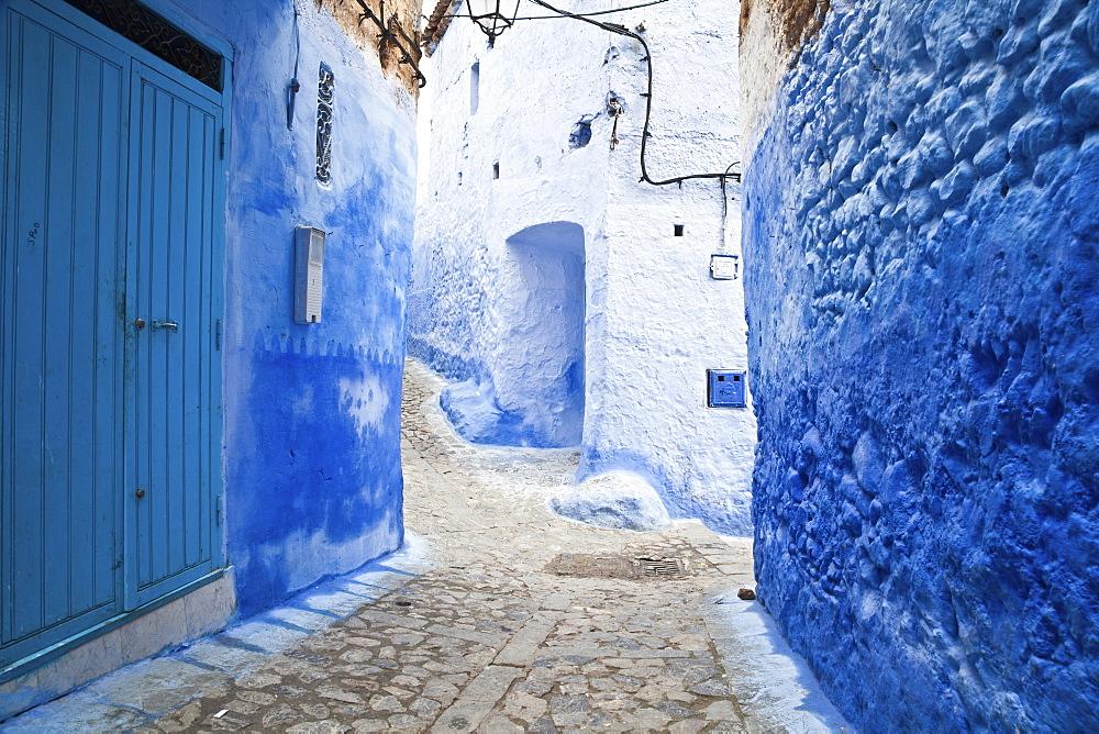 Backstreets Of Chefchaouen Medina, Chefchaouen, Morocco