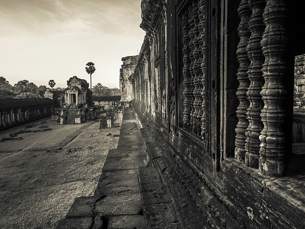 Buddhist Temple, Angkor Wat, Krong Siem Reap, Siem Reap Province, Cambodia
