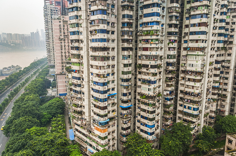 Residential Buildings Over 30 Floors For Apartments, Chongqing, China