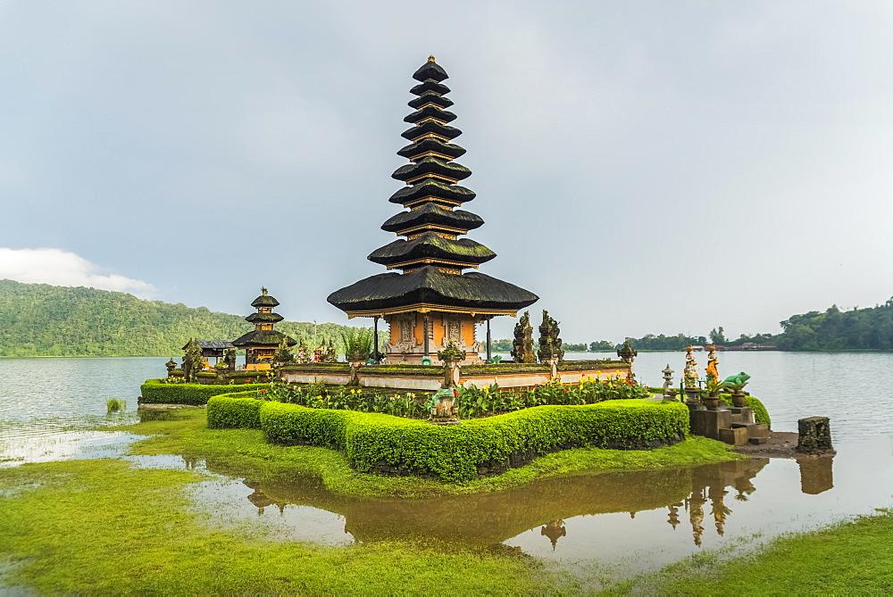 Pura Ulun Danu Buyan In Danau Buyan Lake, Bali Island, Indonesia