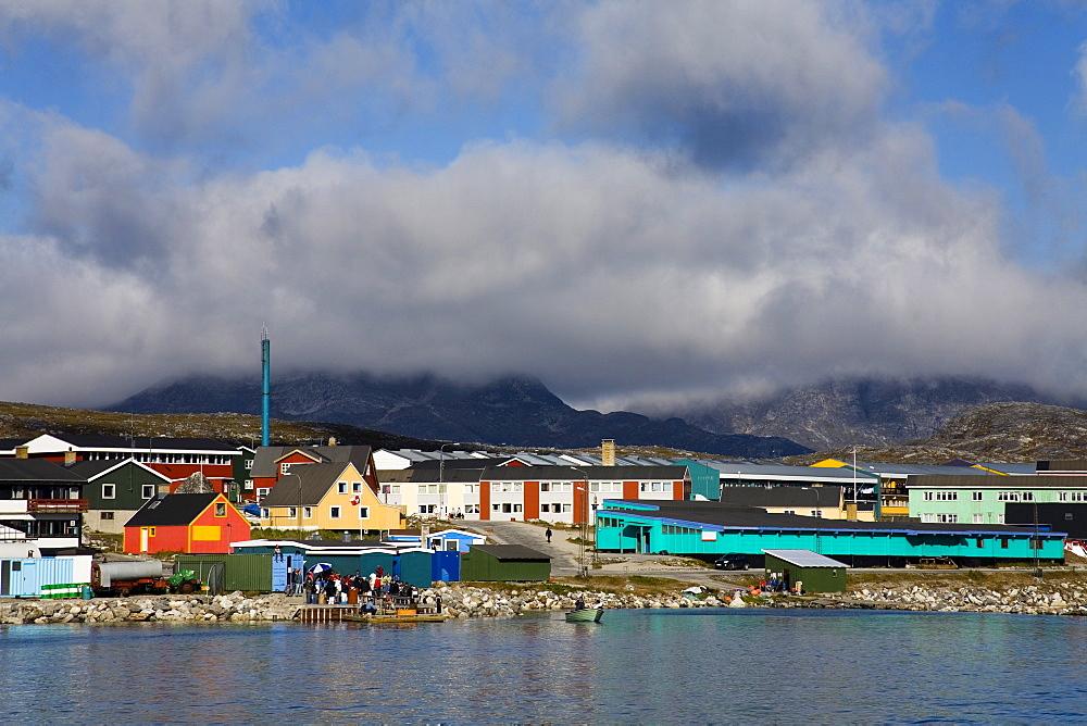 Nanortalik, Qoornoq, Kitaa, Southern Greenland, Kingdom Of Denmark; Town On The Southern Tip Of Greenland