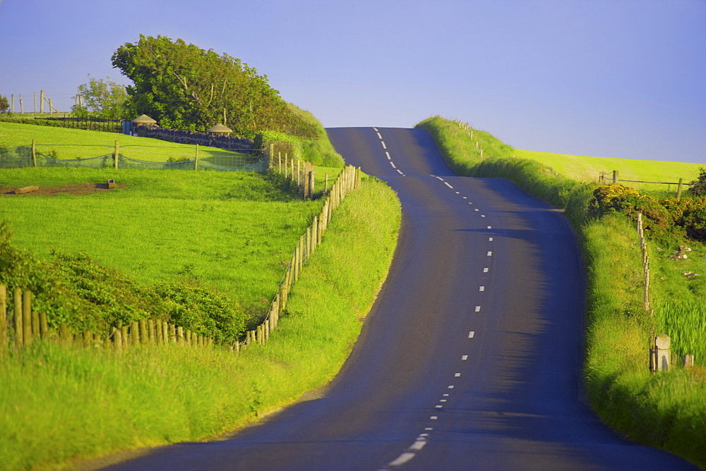 County Antrim, Ireland, Rural Road