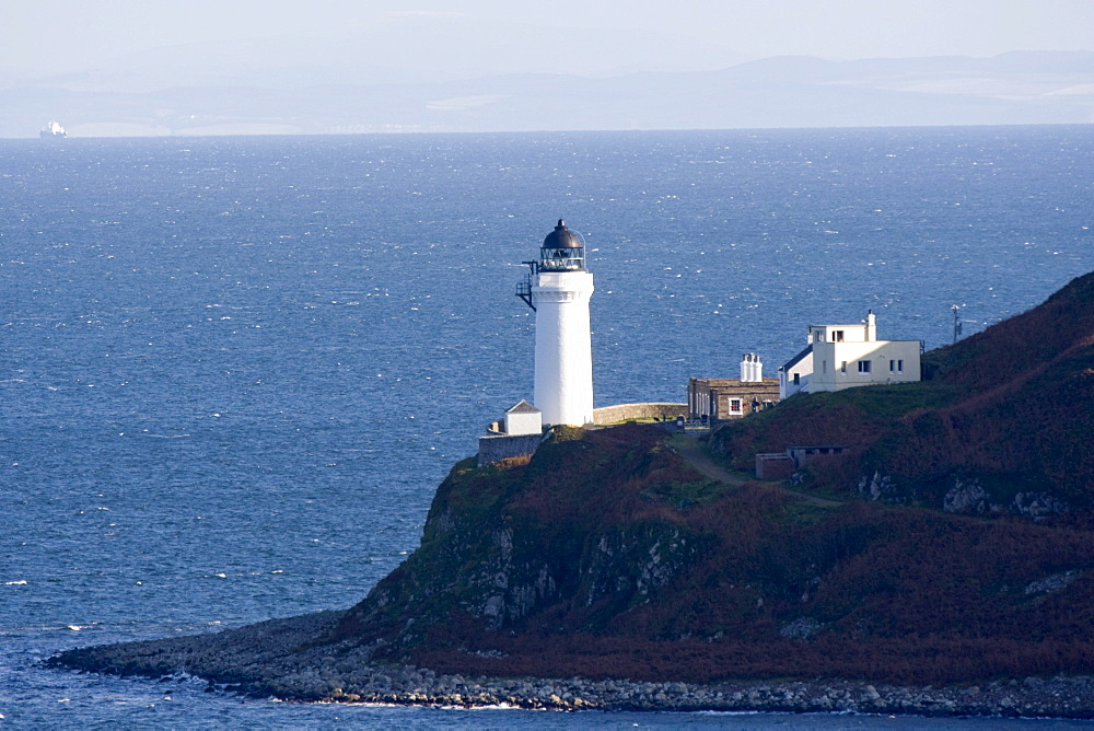 Lighthouse On The Coast, Campbeltown Loch, Island Of Davaar, Argyll And Bute, Scotland